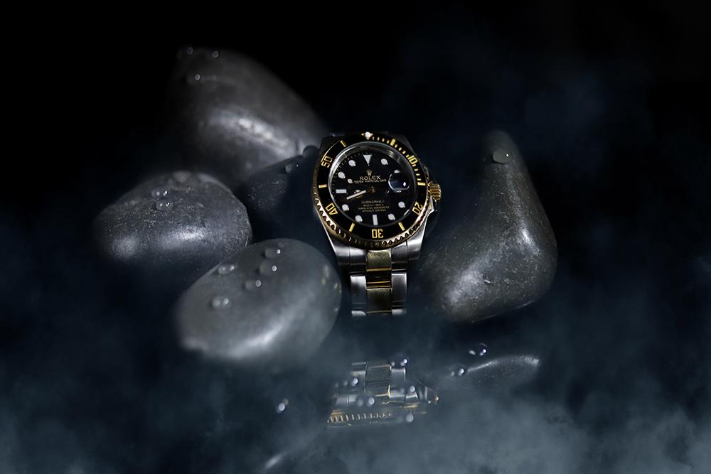 Rolex Watch Stone Set