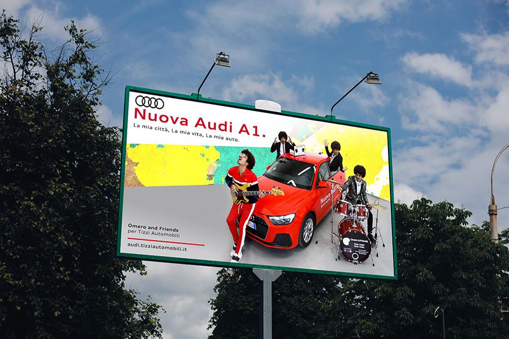 Advertising Audi A1 Sportback